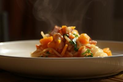 spaghetti cu dovleac 10