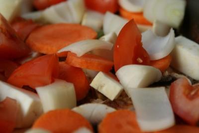 arroz con carne i verduras 07