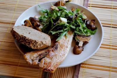 piept de porc cu champignon 13